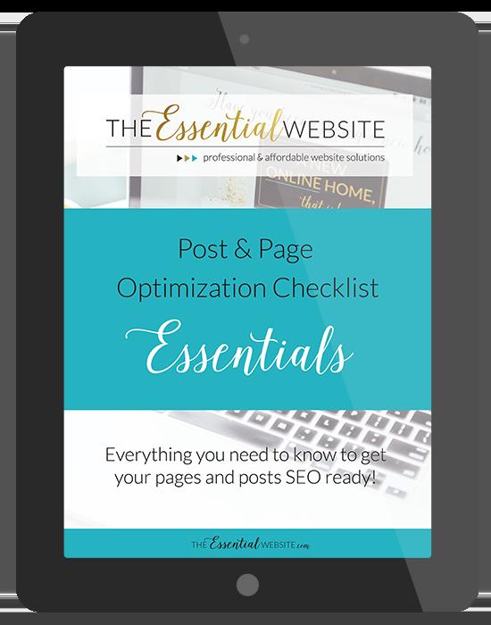Post & Page Optimization Checklist Essentials