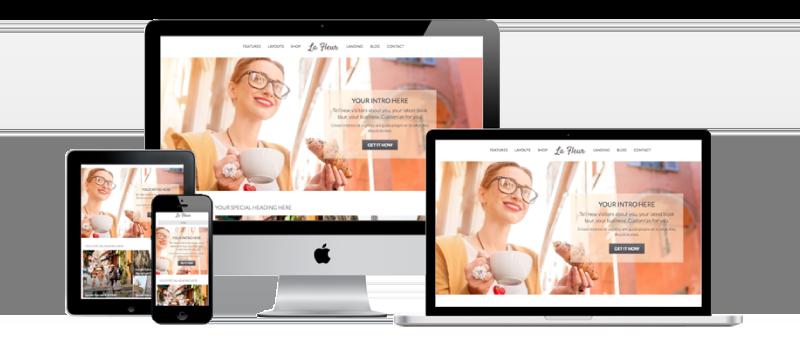 Le Fleur - Custom Web Design and Development